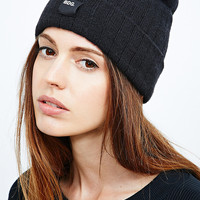 BDG Ribbed Beanie in Black - Urban Outfitters