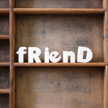 friend by AMradio on Etsy