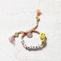Venessa Arizaga Dont Worry Bee Happy Bracelet | Urban Outfitters