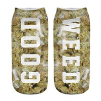 New Arrival GOOD WEED Socks