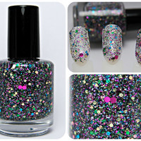 Dot Party - Custom Glitter Nail Polish