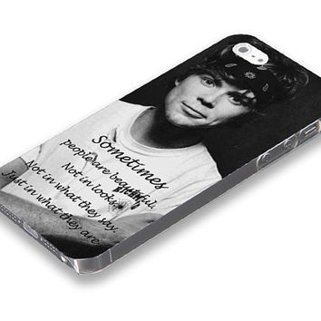 5 Seconds of summer,Ashton from 5SOS  iPhone 5 5S case, iPhone 4 4S case, Free shipping M-493