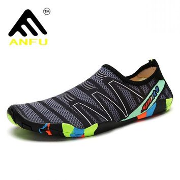 Outdoor unisex female water sneakers shoes women beach swimming men footwear for fishing shoes diving beach aqua wading shoes