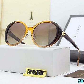Gucci Summer Fashion Women Men Casual Summer Shades Eyeglasses Glasses Sunglasses 5#