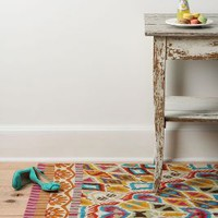 Flutter Pattern Rug by Anthropologie