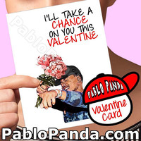Funny Valentine Card | Chance The Rapper | Acid Rap Beyonce Valentine Cute Valentine Card Boyfriend Card Girlfriend Gift Drake Valentine Him