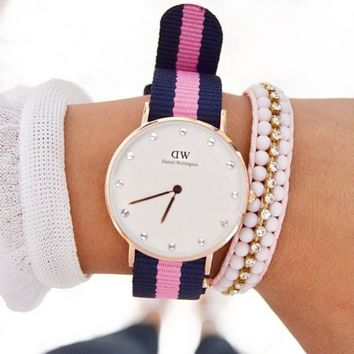 Classy Winchester Rose Gold Watch by Daniel Wellington