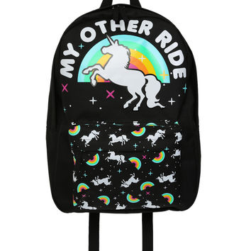 Loungefly My Other Ride Unicorn Backpack | Hot Topic