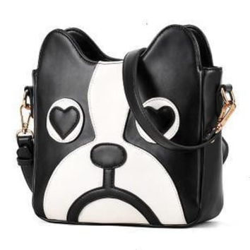 Hot Sale Cartoons Lovely Dogs Messenger Bags Stylish Bags Shoulder Bags [6581106183]