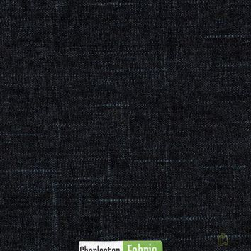 Oxford Blue Strie Fabric