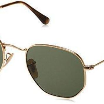 Ray Ban Unisex Rb3548n Hexagonal Sunglasses