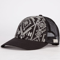 Billabong Same Spark Womens Trucker Hat Black One Size For Women 23420510001