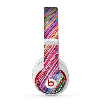 The Abstract Color Strokes Skin for the Beats by Dre Studio (2013+ Version) Headphones