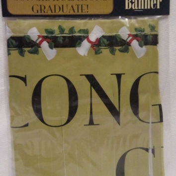 graduation classic fringe banner Case of 96