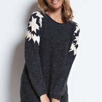 Mountain Snowflake Sweater