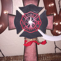 Beautiful Firefighter Cross