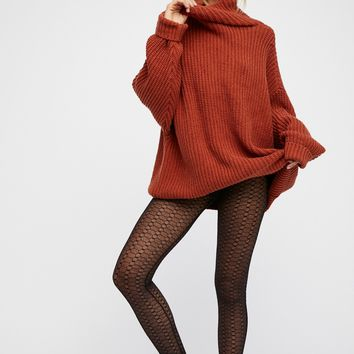 Free People Kristina Fishnet Legging
