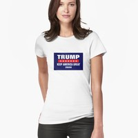 'PRESIDENT DONALD TRUMP 2020 KEEP AMERICA GREAT GIFT ITEMS' T-Shirt by EmilysFolio