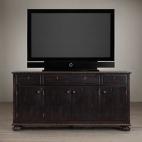 French Empire Panel Media Console
