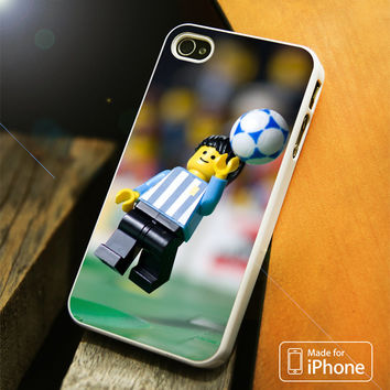 Hands God Maradona Legos iPhone 4 5 5C SE 6 Plus Case