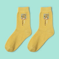 Sunflowers Square Sock
