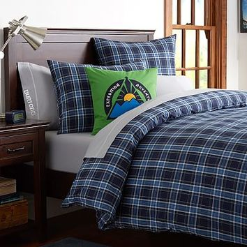 Burton Forest Plaid Duvet Cover + Sham