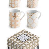 'Luxe Moderne' Coffee Mugs (Set of 4)