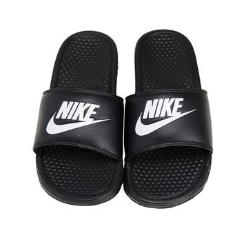 Nike Benassi JDI Slides (343880-090) Sports Sandals Slippers Flip Flops