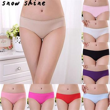 snowshine #3001    Women Invisible Underwear Spandex Seamless Crotch  free shipping
