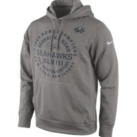 Nike Men's Seattle Seahawks Super Bowl XLVIII Champions Circle Hoodie