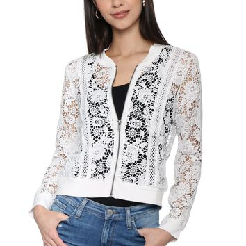 Jack Feelin' Lacey Bomber Jacket