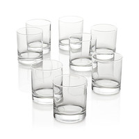 Set of 8 Boxed 11 oz. Double Old-Fashioned Glasses