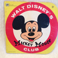 Vintage Mickey Mouse Golden Book 1975