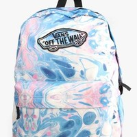 Vans Realm Backpack - Marble True White