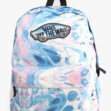 vans marble backpack