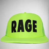 'Rage' Trucker Hat