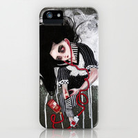 without a heartbeat iPhone Case by Rouble Rust