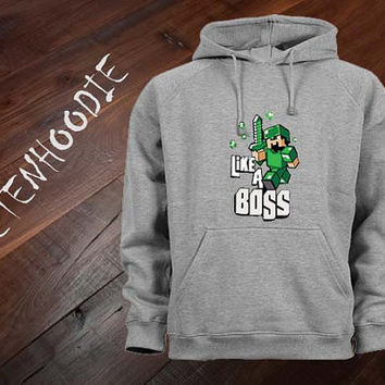 Minecraft hoodie sweatshirt jumper t shirt variant color Unisex size