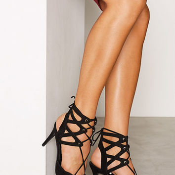 Lace Up Pump, NLY Shoes