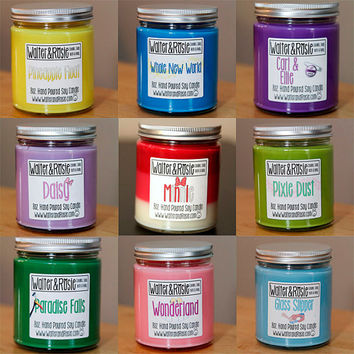 """Choose your Own """"Mouse Inspired"""" scent - 8oz Soy Candle - custom - disney"""
