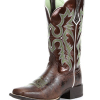 Ariat Women's Tombstone Boot - Chocolate Chip/Brown