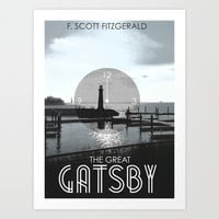 The Great Gatsby Art Print by Tanner Wheat