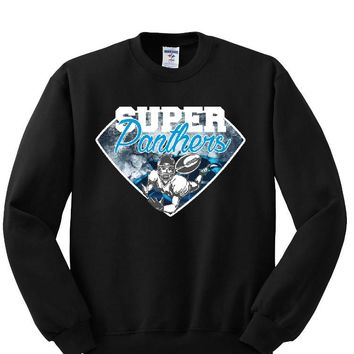 Super Carolina Panthers Helmet Sweatshirt Sports Clothing
