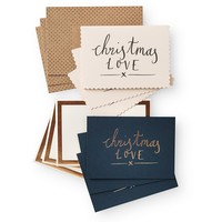 Christmas Love Card Pack | Cards | Oliver Bonas
