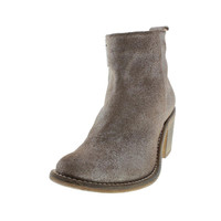 Diesel Womens Chelsea Show Pinky Suede Distressed Ankle Boots