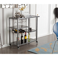 Holly & Martin Zephs Bar Cart by Southern Enterprises