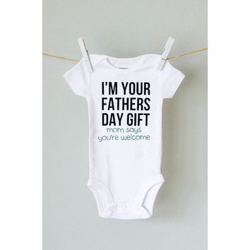 I'm Your Fathers Day Gift Onesuit