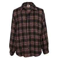 Earth Ragz - Plaid Button Heavyweight Shirt