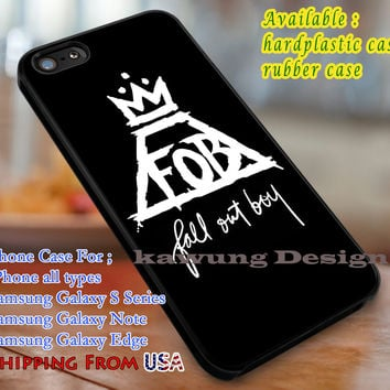 Band Logo FOB iPhone 6s 6 6s+ 6plus Cases Samsung Galaxy s5 s6 Edge+ NOTE 5 4 3 #music #fob dl3