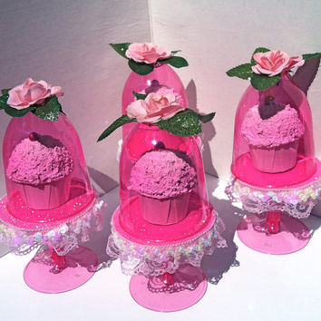 Sleeping Beauty Stands...(set of 4) Aurora mini cupcake stands